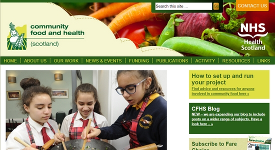 Community Food and Health Scotland