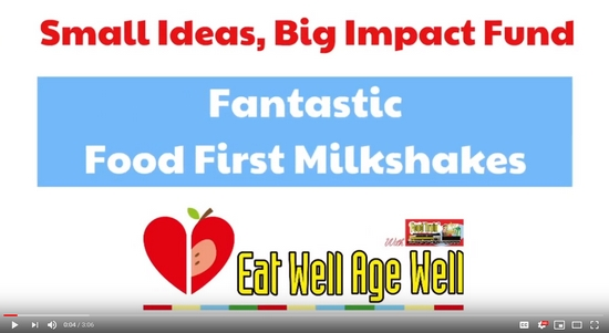 Fantastic Food First Milkshakes