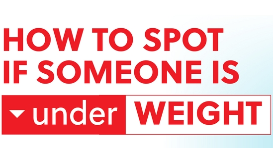 How to Spot if Someone is Underweight