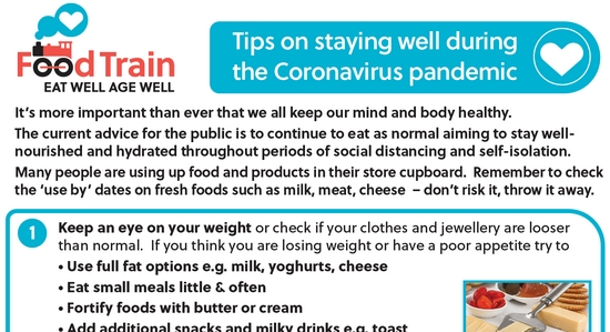 COVID-19 and Staying Well Poster
