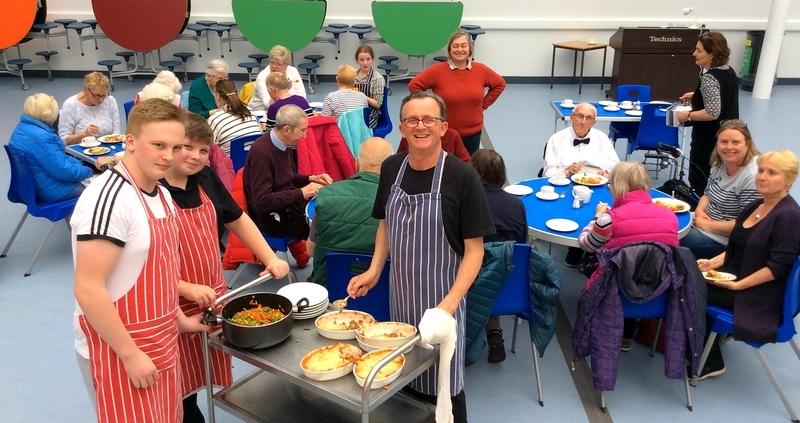 Dinner at Dunbar Grammar Grammar School